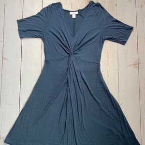 Motherhood Maternity Blue Dress - Size L
